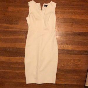 Lulu's White Bandage Cocktail Dress